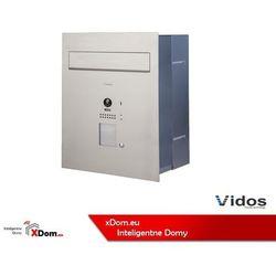 s1201-skp skrzynka na listy z wideodomofonem i czytnikiem kart marki Vidos