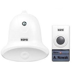 """Eura-tech Dzwonek bezprzewodowy """"eura"""" wdp-26a3 """"campana"""" możliwość rozbudowy zasilanie bateryjne, a31a326"""