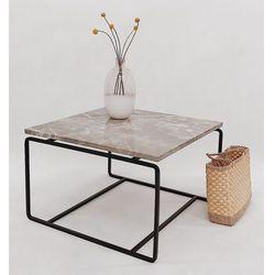 Stolik kawowy marmurowy form-a marki The brooklyn loft