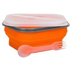 Pojemnik SMILE SLS-2/5 Silikonowy 600 ml Pomarańczowy