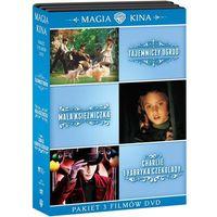 Tajemniczy ogród / Mała księżniczka / Charlie i fabryka czekolady (DVD) - Tim Burton, Alfonso Cuaron, Agni