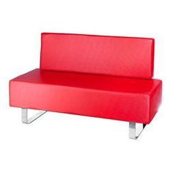 Kanapa do poczekalni Messina BD-6713 czerwona - produkt z kategorii- sofy