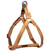Zolux  szelki regulowane mac leather 20mm kolor jasno-brązowy