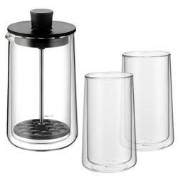 WMF Spieniacz do mleka Coffee Time + 2 szklanki