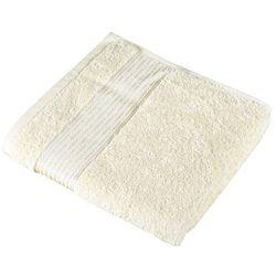 Ręcznik kamilka pasek beżowy, 50 x 100 cm wyprodukowany przez Bellatex
