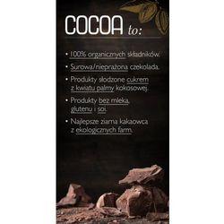 Rodzynki w Surowej Czekoladzie 70g - COCOA EKO - sprawdź w wybranym sklepie