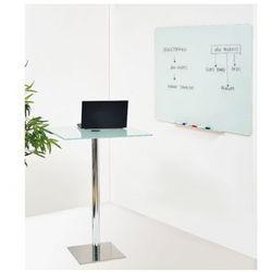 B2b partner Szklana tablica do pisania, biała, 900x600 mm
