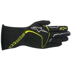 Rękawice Alpinestars Tech 1 Race - Żółto / Czarny \ S - produkt z kategorii- Rękawice motocyklowe