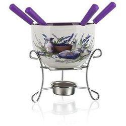 Banquet lavender 6-częściowy zestaw fondue, (8591022369043)