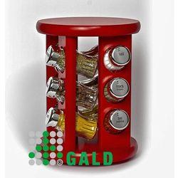 obrotowa półka 12el. czerwony połysk 5901832921417 marki Gald