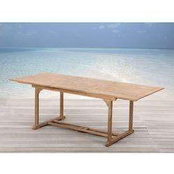 Drewniany stól ogrodowy - rozkladany - kwadratowy - TOSCANA - oferta [2594d64a33ffd2e0]