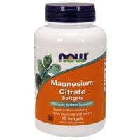 Cytrynian magnezu 133mg - 90 kaps 3 formy Nowfoods