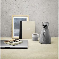 Eva solo - zaparzacz do kawy 1 l - etui neopren woven dark grey (5706631074278)