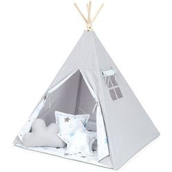 Mamo-tato namiot tipi duży popiel / gwiazdozbiór niebieski
