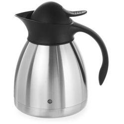 Hendi Termos do kawy z czarnym przyciskiem, 1 l   , 446508