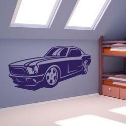 Szablon malarski pojazd mustang 02 marki Wally - piękno dekoracji