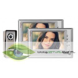 Wideodomofon f-s7v11 dwa monitory marki Genway