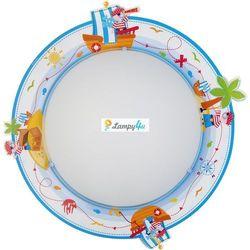 DALBER - PIRAT Plafon 2 X E 27 Nr. 60556, towar z kategorii: Oświetlenie dla dzieci