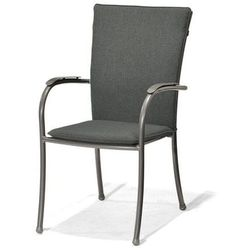 Krzesło z podłokietnikami i poduszką Nova - produkt z kategorii- Krzesła ogrodowe