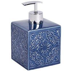 Dozownik do mydła CORDOBA DARK BLUE - 500 ml, WENKO, B06WRX11QD