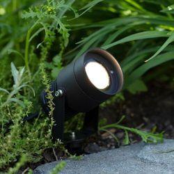 Markslojd Garden24 107291 Lampa wbijana zewnętrzna 1x15W LED IP44 czarna (7330024577152)
