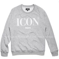 BLUZA PROSTO ICON MOSS LIGHT HEATHER GREY, wkładana