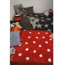 Lorena canals Dywan do prania w pralce topos rojo/red, kategoria: dywany dla dzieci