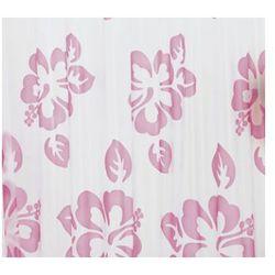 Zasłonа FIORI, różowe, 180 x 200 cm (8590507280958)