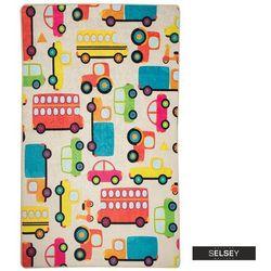 Selsey dywan do pokoju dziecięcego dinkley auta 100x160 cm