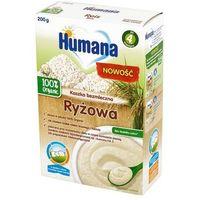 Humana 100% Organic Kaszka bezmleczna ryżowa po 4 m-cu, NN-ZHU-R220-001