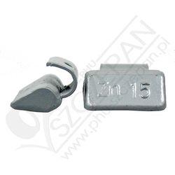 Ciężarki do kół cynkowe do felg aluminiowych ATS - ZN ALU - 15G - 15g (5906660399919)