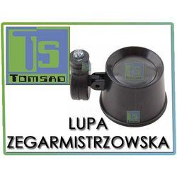 Lupa zegarmistrzowska 21mm, 10x z podświetlaniem LED