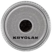 polyester glimmer medium (black) średniej grubości sypki brokat - black (2901) marki Kryolan