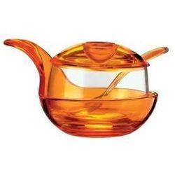 Guzzini murano cukiernica pomarańczowa 23470045