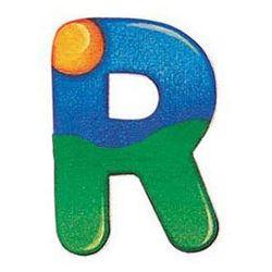 drewniana literka r wyprodukowany przez Selecta