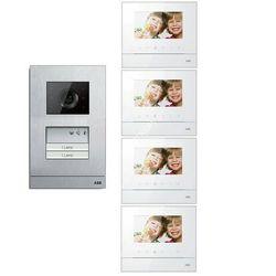 ABB Zestaw wideo 4-rodzinny ABB WELCOME BASIC GN2878 - Rabaty za ilości. Szybka wysyłka. Profesjonalna pomoc techniczna., GN2878