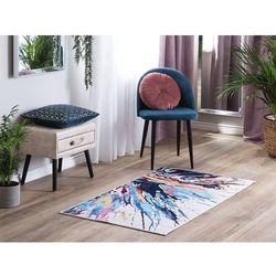 Beliani Dywan kolorowy 80 x 150 cm krótkowłosy karabuk