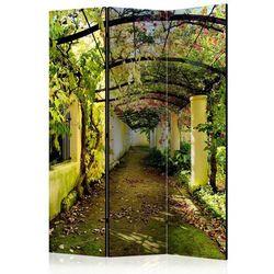 Parawan do mieszkania 3-częściowy - Romantyczny ogród 135 szer. 172 wys.