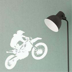 szablon na ścianę motocyklista 2319