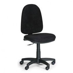 Biurowe krzesło Torino bez podłokietników - czarne