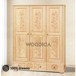 4. szafa góralska [3d2s] 153x190x57 marki Woodica