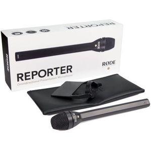 RODE REPORTER - Mikrofon Reporterski z nakładką z kategorii Mikrofony