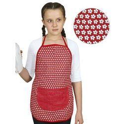 Bellatex Fartuch dziecięcy Kwiatek na czerwonym, 42x45 cm, - sprawdź w wybranym sklepie