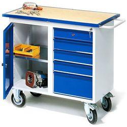 Aj produkty Mobilny stół warsztatowy flex, szafka, 5 szuflad