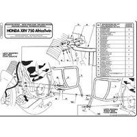 Kappa KN23 Osłony Silnika Honda Africa Twin 750 (96 > 02)