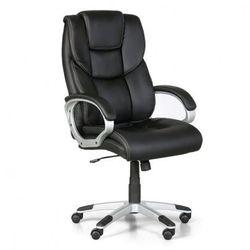 Fotel biurowy lex, czarny marki B2b partner