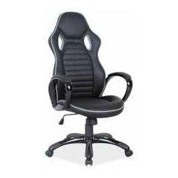 Fotel q-105 czarno-szary - zadzwoń i złap rabat do -10%! telefon: 601-892-200 marki Signal meble