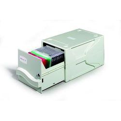 Pojemnik Durable Multimedia Box na płyty CD/DVD szary 5256-10 (4005546571034)
