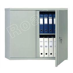Szafa metalowa 83,2x91,5x45,8 na akta dokumenty biuro warsztat AM-0891, Szafa AM 0891