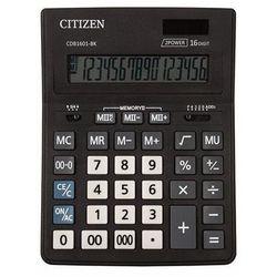 Kalkulator biurowy CITIZEN CDB1601-BK Business Line, 16-cyfrowy, 205x155mm, czarny (4562195139256)